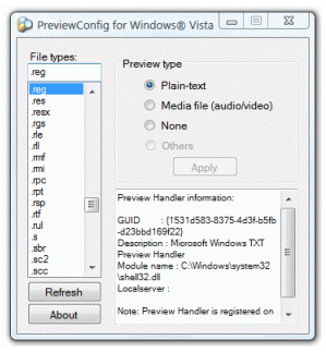 PreviewConfig