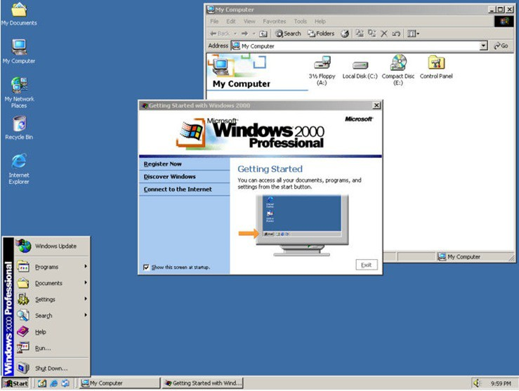 http windows 2000: