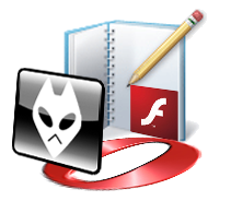 writer foobar flash opera logos icons