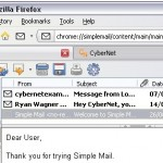 Integrated Email Client for Firefox