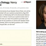 Digg Branches Out and Starts Digg Dialogg