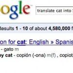 Helpful Tip: Use Google Search to Easily Translate Words
