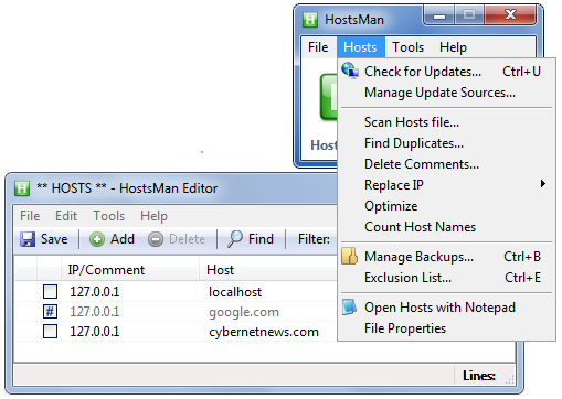 hostsman hosts file manager.png