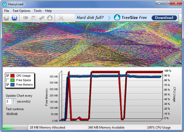 Stress Test a PC with HeavyLoad