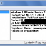 Retrieve Windows 7 and Office 2010 Product Keys