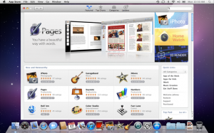 Mac App Store on Mac OS X Lion (credit: Apple)