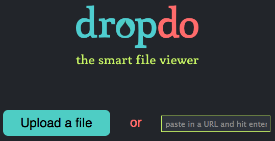 Dropdo online file viewer