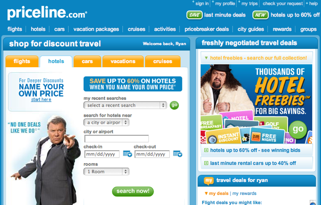 Priceline hotel tips