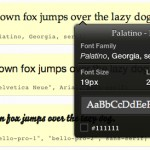 Identify Web Fonts Used on Sites