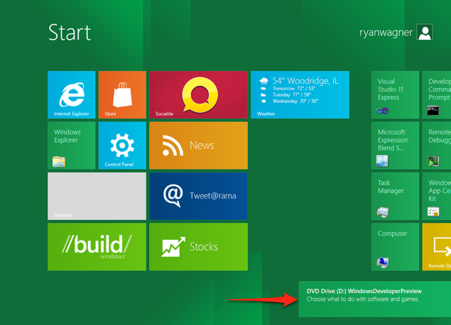 Windows 8 metro notification 1