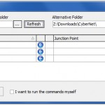 Move Programs and Games to Another Drive Using Junction Points