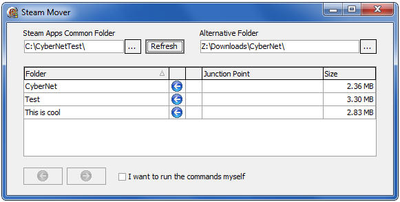 Move programs to another drive