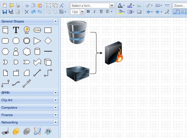 draw online diagrams free visio alternatives - Free Visio Type Software
