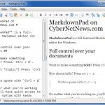 Markdown App for Windows