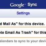 Gmail via Exchange on iOS: You Can Now Delete Instead of Archive
