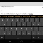 Free Keyboard with Arrow Keys for Android