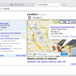 Google Maps Chrome Extension