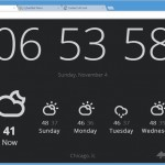 View Weather on Chrome's New Tab Page