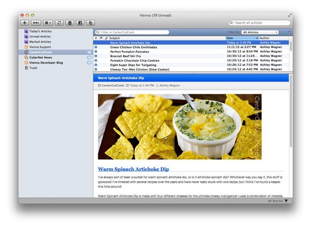 Mac rss reader